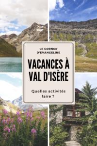 Guide pour des vacances à Val d'Isère