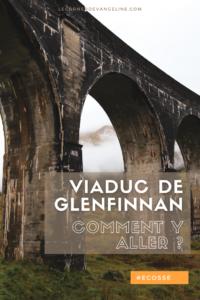 Viaduc de Glenfinnan et Jacobite train Le Corner d'Evangeline