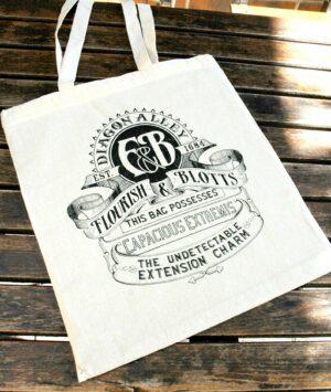 Tote bag Flourish and Blotts