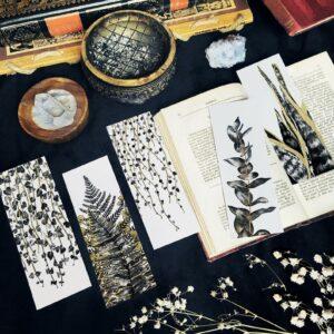 Marque page botanique